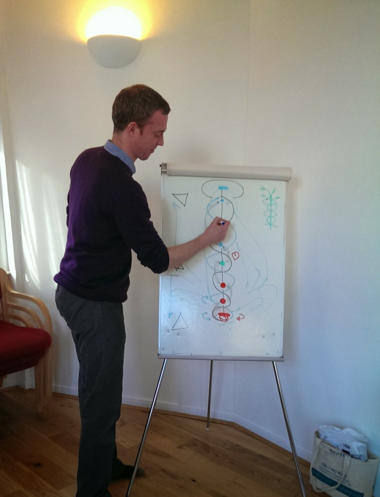 Tim at the whiteboard